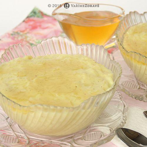 Vaříme zdravě » Dezertní vanilková rýže