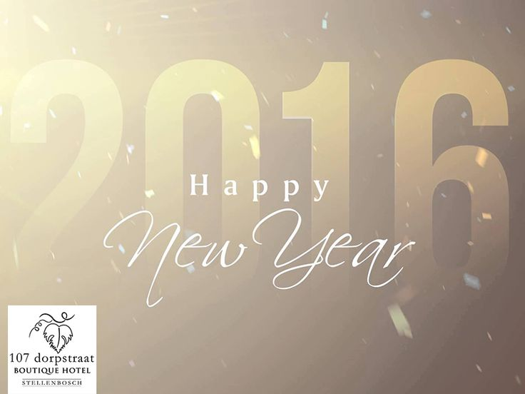 Wishing you a fabulous 2016 with full of great achievements and experiences. A meaningful chapter waiting to be written HAPPY NEW YEAR!