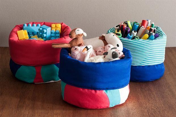Propuestas para guardar los juguetes de los chicos  Abunda ofrece diseños para la vida cotidiana.