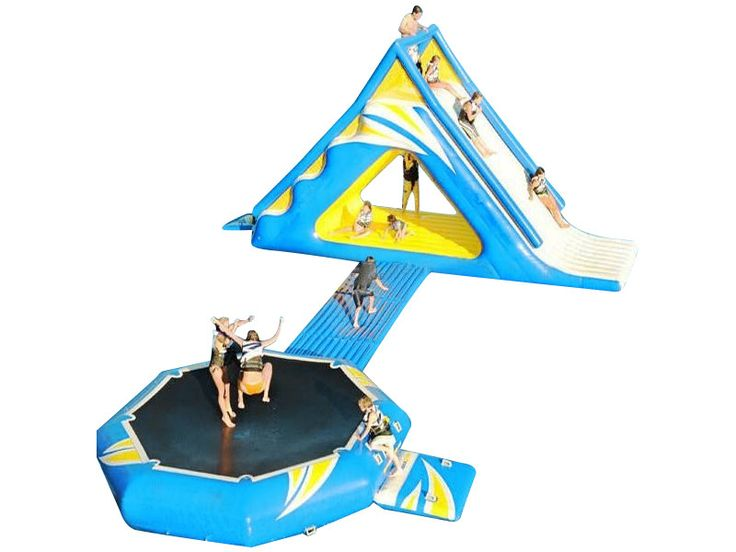 Commercial Cheap Water Camp Trampoline For Sale 2018, Buy China Blow Up For Kids Wholesale