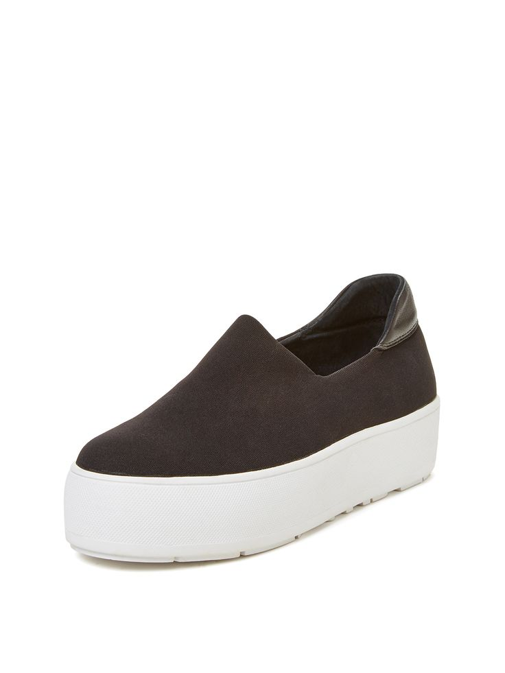 Neoprene Platform Slip-On Sneaker