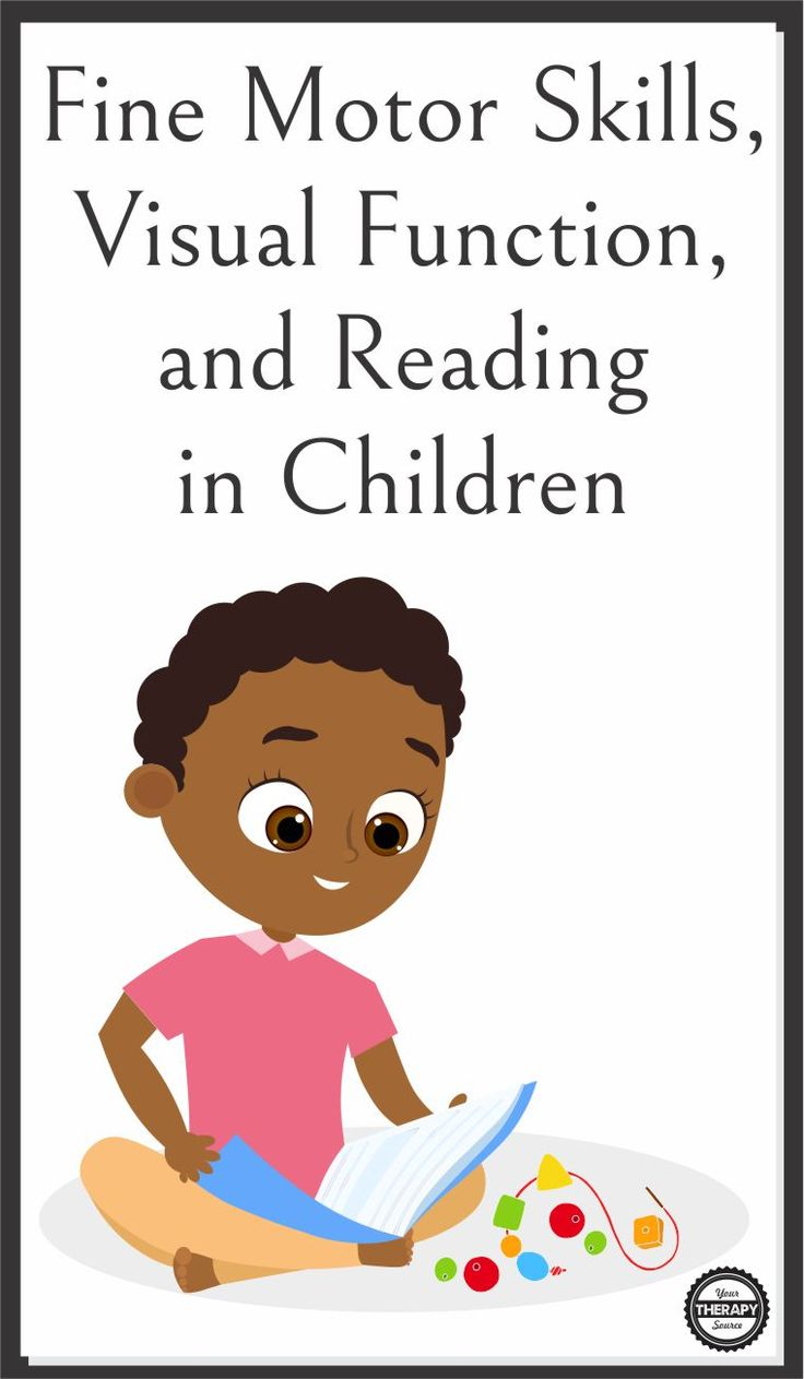 Super Interesting Research on the Fine Motor Skills, Visual Function, and Reading in Children