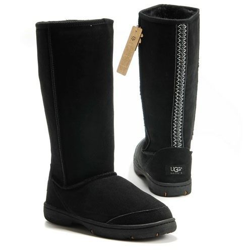 Ugg Ultimate Tall Braid Boots 5340 Black