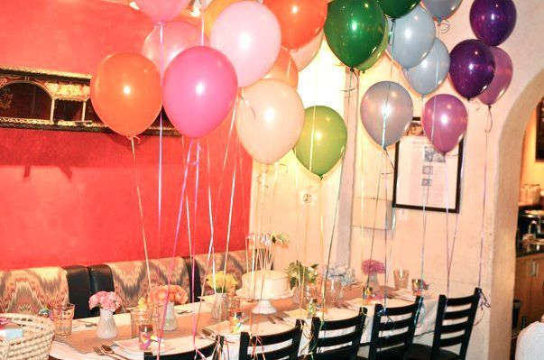 90 Awesome Simple Birthday Decoration Ideas At Restaurant Simple Birthday Decorations Rainbow Baby Shower Colorful Baby Showers