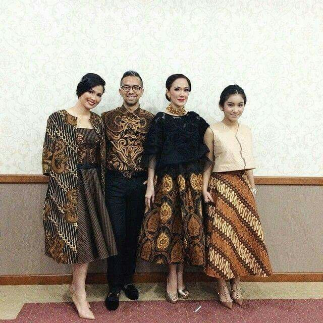 Chic with batik