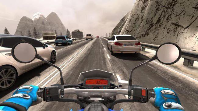 Melhores jogos gratuitos para o Android 2016, Traffic Rider