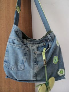 bolsa calca jeans Como Fazer Bolsas de Calça Jeans Usadas Dicas e Passo a Passo