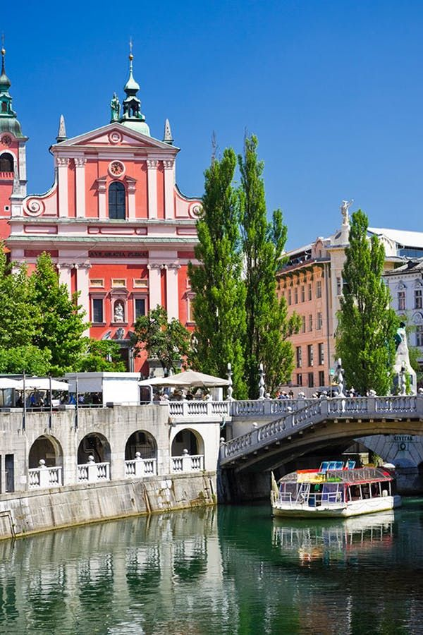 The 12 Least Expensive But Most Dazzling European Cities Ljubljana City Escorted Tours