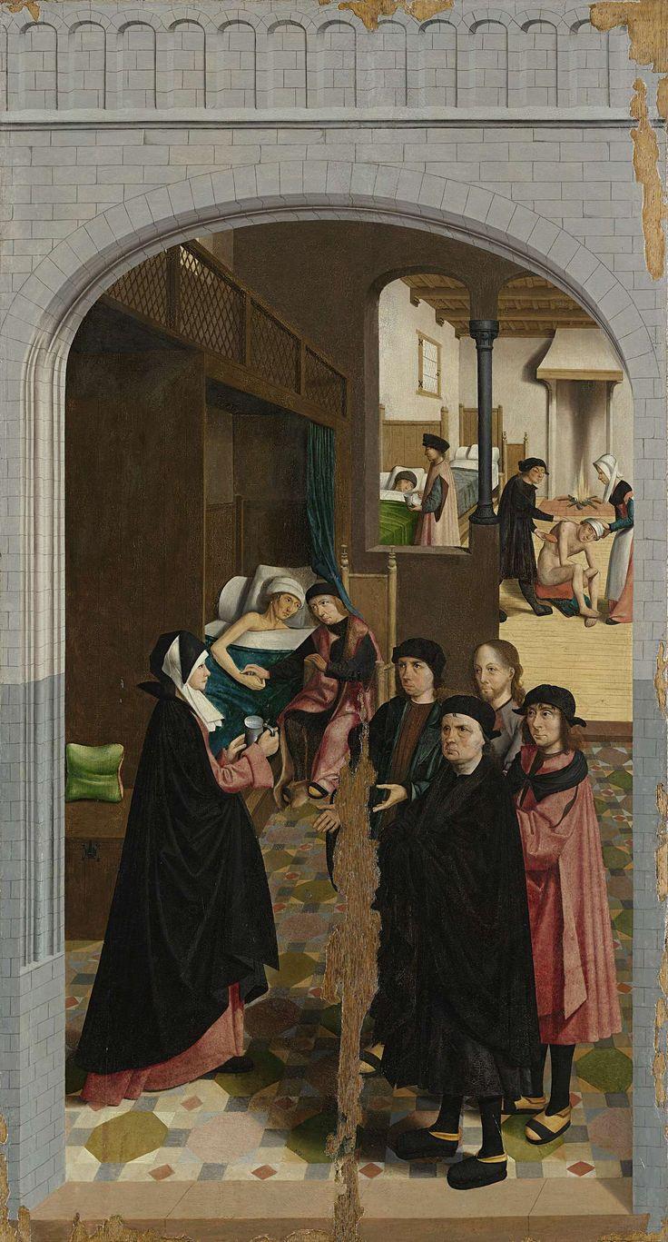 The Seven Works of Mercy: To Visit the Sick / Las Siete Obras Corporales de Misericordia: Visitar a los enfermos // 1504 // Master of Alkmaar