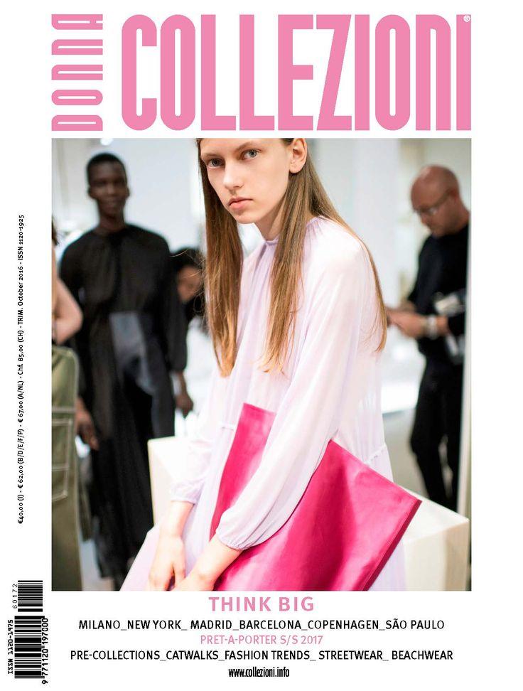 the October issue  #MFW #NYFW #Madrid #Copenhagen #Sao Paolo #pap #springsummer 2017 #ss17 #fashiontrends #streetwear  #catwalks #beachwear