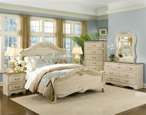 cream bedroom set. Standard Furniture Rococo 2 Piece Panel Bedroom Set in Cream Best 25  furniture uk ideas on Pinterest paint