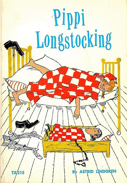 I loved Pippi Longstocking when I was young....  I read all her books Such a silly girl!