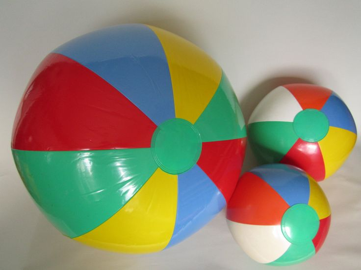 Blow up beachballs!