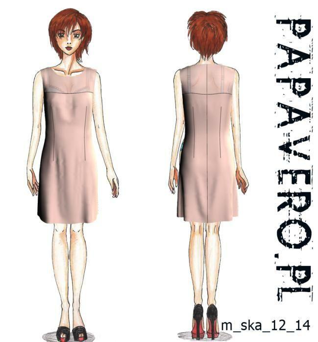 dress sewing pattern - papavero - loads of patterns available