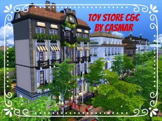 Toy Store C&C by Casmar at TSR via Sims 4 Updates