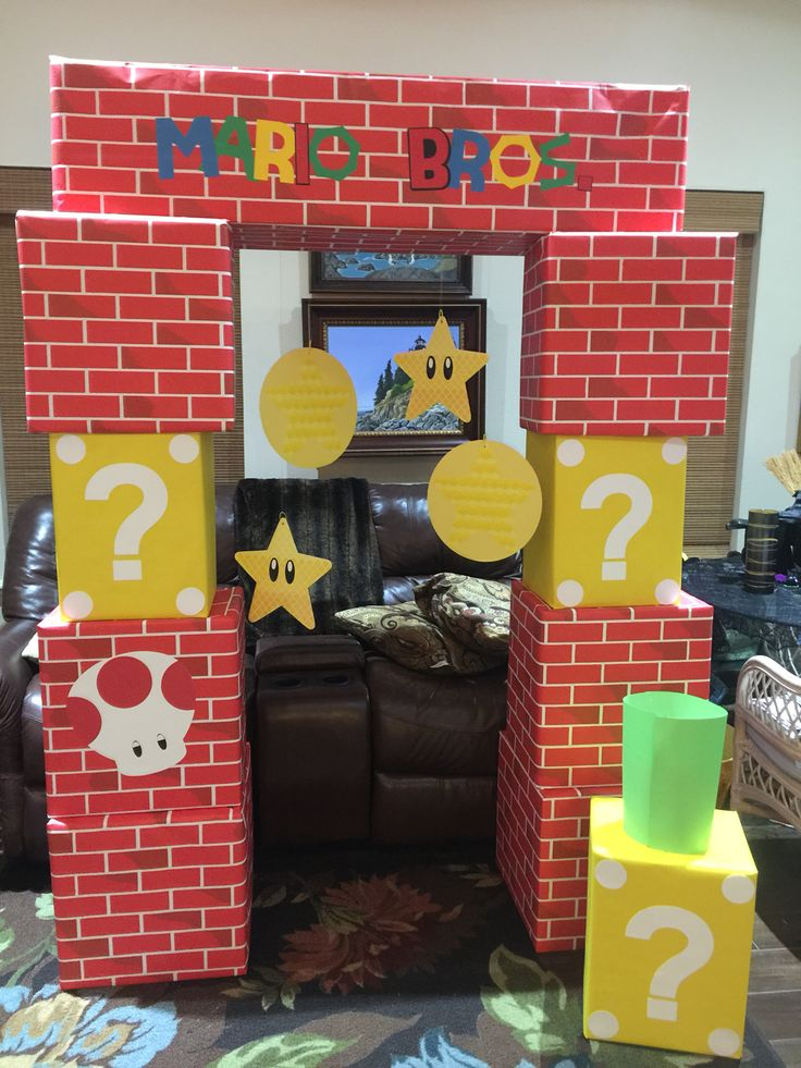 Mario Brothers for Trunk or Treat