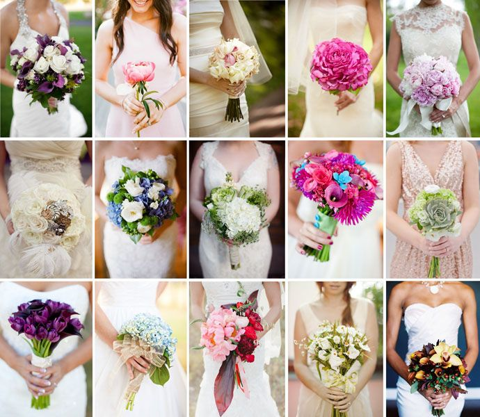 Bridal Bouquets Styles
