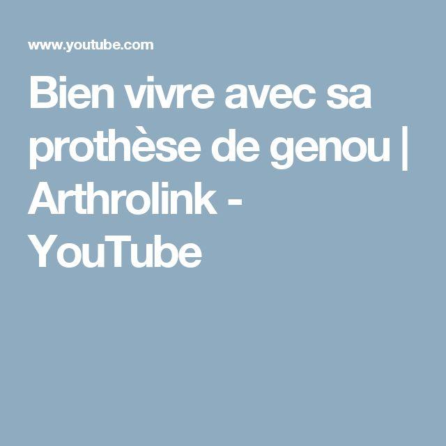 Bien vivre avec sa prothèse de genou | Arthrolink - YouTube