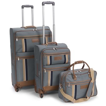 Tommy Hilfiger Scout Luggage Set - 3-Piece in Slate