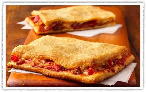 Σκεπαστή πίτσα από την #Pillsbury #pizza