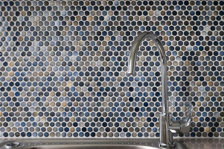 Laundry Splash back I Feature Tiles I Coloured Tiles