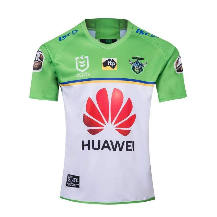 Canberra Raiders Rugby League Team 2019 20 Replica Kit Shirt Jersey Ca Www Worldsoccerfootballshop Com