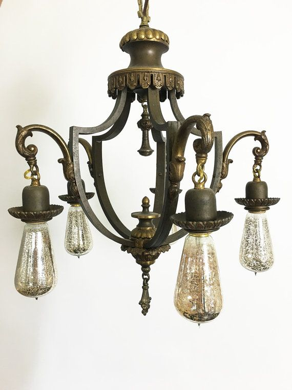 A beautiful, rewired, in great condition steampunk chandelier. Message me and I can send you photos of what it looks like installed. Stunning.  Has