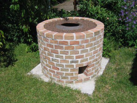 Backyard Tandoor tandoor oven. follow the image to the source. absolutely fantastic