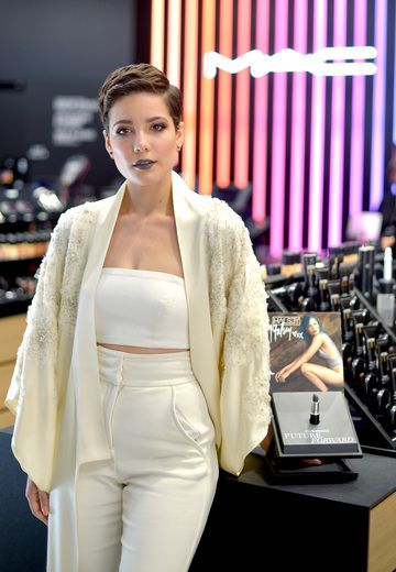 Five Minutes With Halsey: Singer Talks MAC Lipstick Changing Hair Looks and Coachella