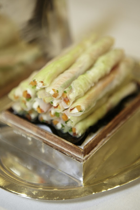Entertaining + Events. Cigarette-style spring rolls. Entertaining Entertain Events SpringRolls