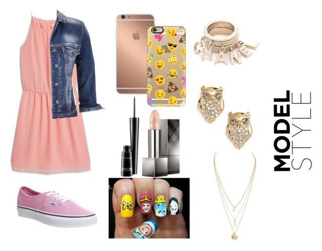"""Model Style"" by mloperamarin on Polyvore featuring moda, MANGO, maurices, Vans, Mura, Casetify, Burberry, MAC Cosmetics y Kate Spade"