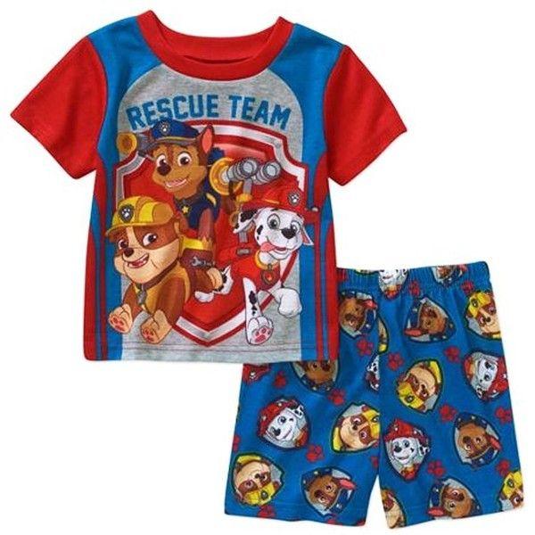 Amazon.com: Paw Patrol 2 Piece Short Sleeve Pajama Sleepwear Little Boys: Clothing