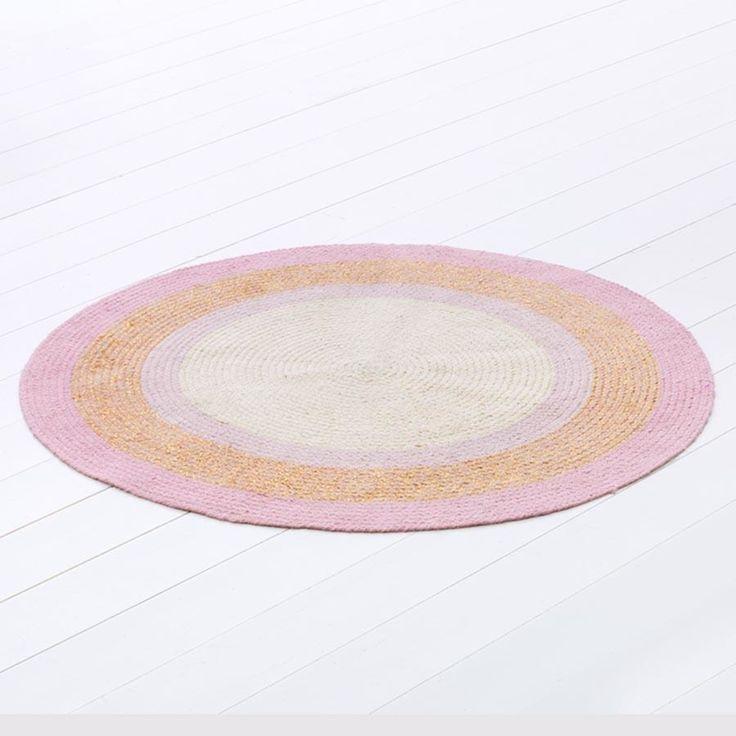 round Floor Rug Ombre roomates Jute Floor Rug