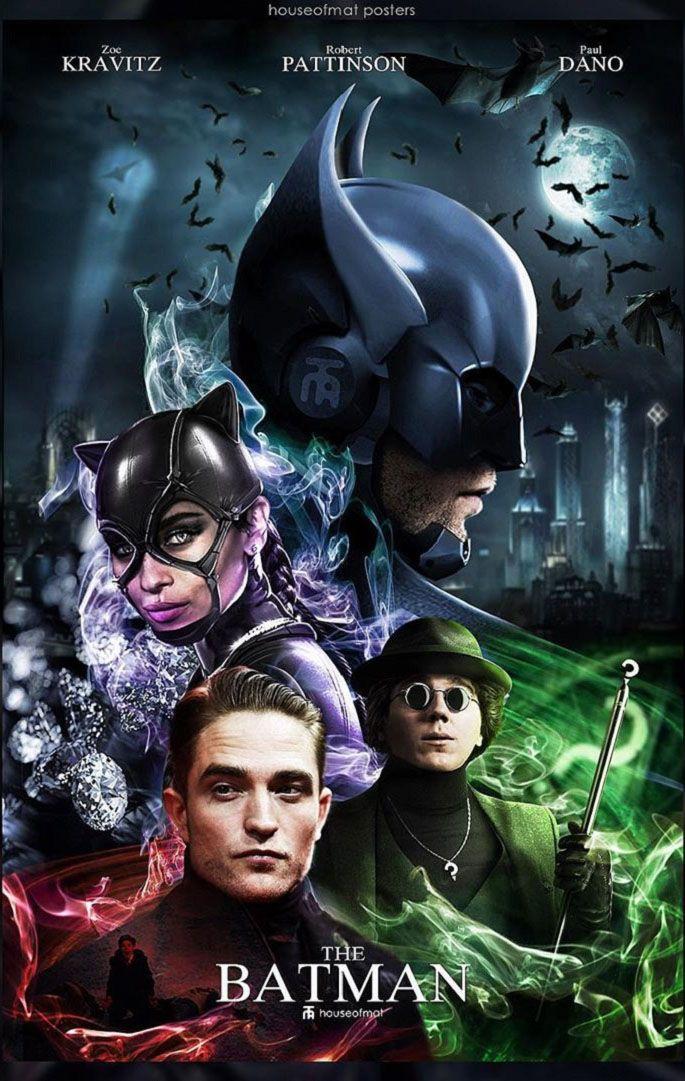 The Batman 2021 Cast Batman Artwork Batman Poster Dc Comics Artwork