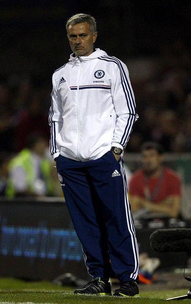 Jose Mourinho - Swindon Town v Chelsea