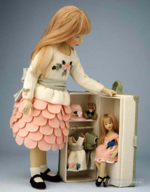 Удивительные куклы из войлока. / Валяние / Валяние. Работы пользователей.