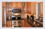 Counter-tops are what make the kitchen. You can either put laminate or granite counter-tops in. -http://www.primoremodeling.com/