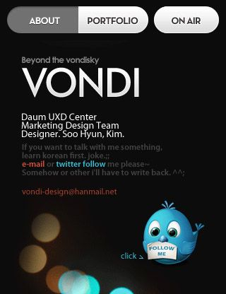 vondi mobile website
