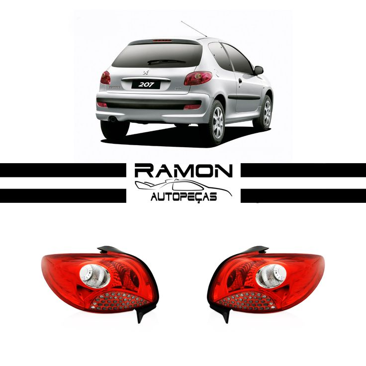 Lanterna Traseira Peugeot 207 Hatch 2008 2009 2010 2011 2012 2013 Vermelha  Entre em contato conosco: Fone: (11) 2369-8510 WhatsApp: (11) 96990-0108  Acesse nossa loja: www.ramonautopecas.com  #lanterna #traseira #peugeot #207 #vermelha #car #cars #carros #supercar #auto #automotive #peçasnovas #farol #milha #pisca #parachoque #parabarro #grade #ramon #autopeças #ramonautopeças #bosquedasaúde #sãopaulo #brasil