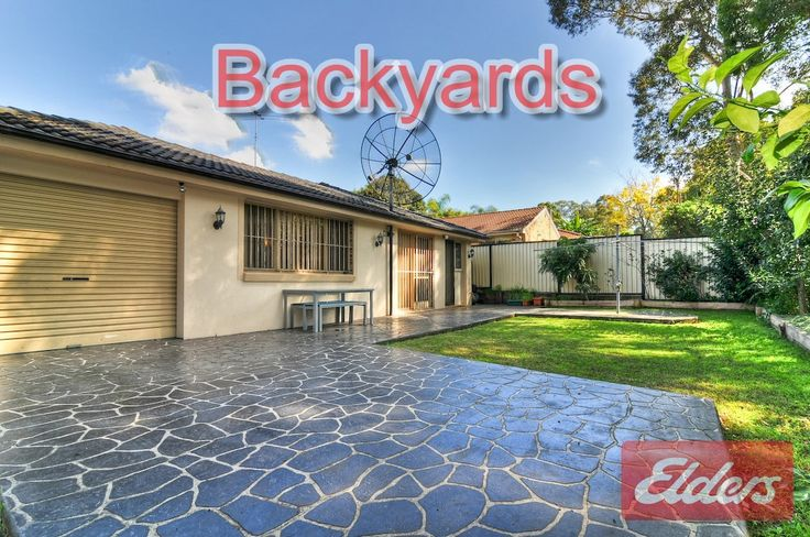 33 Australorp, Seven Hills NSW homes for sale Seven Hills NSW Backyards form homes we have sold in our local area through our Elders Real Estate Agency to help you with your own Backyard ideas. This will also help you get a feel for the area. Go to for more information about the area http://www.elderstoongabbie.com.au/ or call us on 02 9896 2333