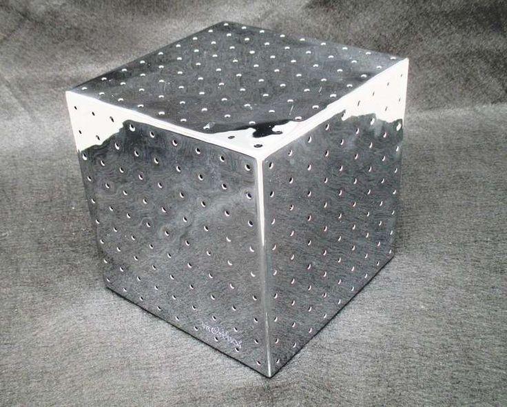 Diego Matthai Chrome Cube Desk Lamp