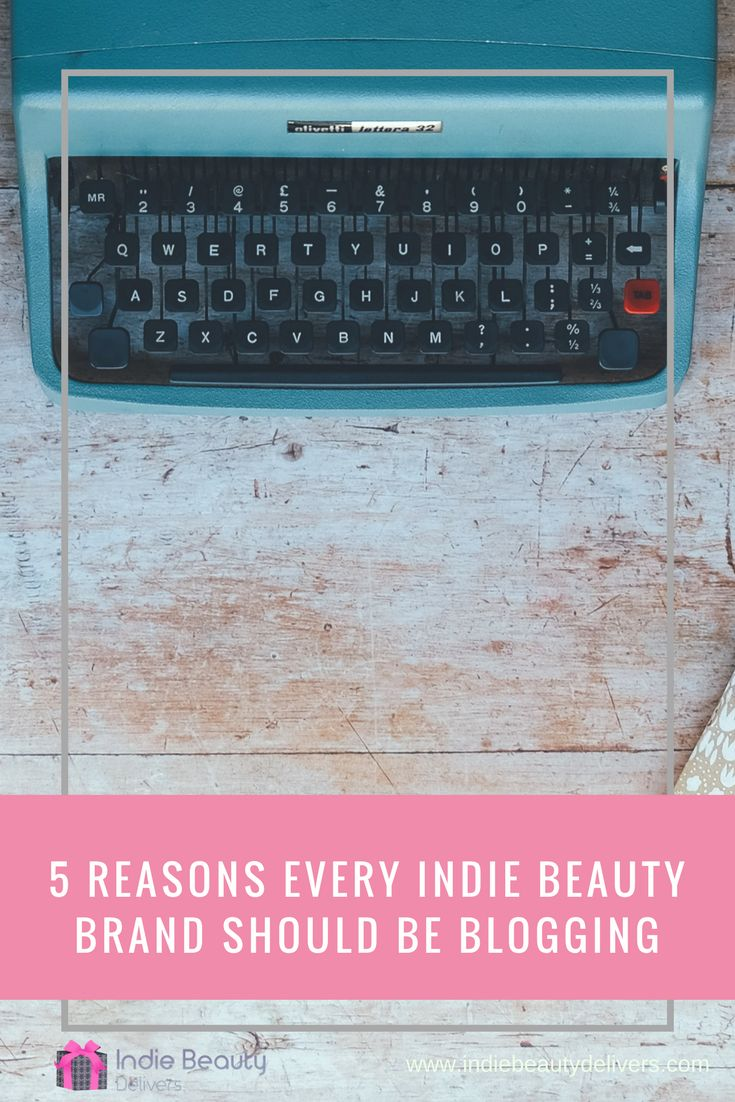 I believe (and know from experience) that blogging is the secret weapon of the indie beauty brand. In this blog I share my top 5 reasons every indie beauty brand should be blogging. I show you why it's so important, how it can differentiate your business and exactly how it will send your sales and profits soaring.