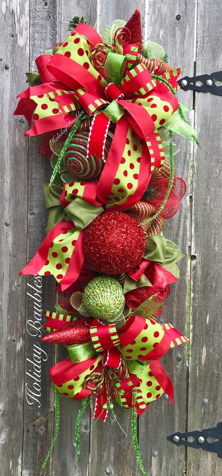 Best 25 Christmas Swags Ideas On Pinterest Christmas