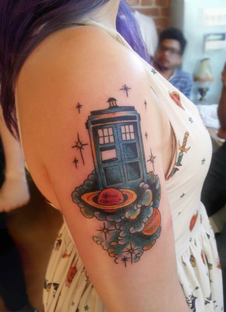 Now That's One Gorgeous Doctor Who Tattoo