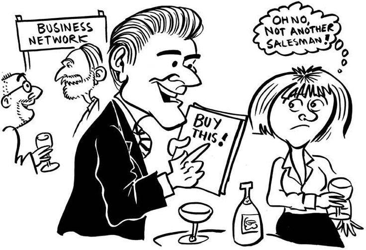 Cartoon Archive - The Accidental Salesman