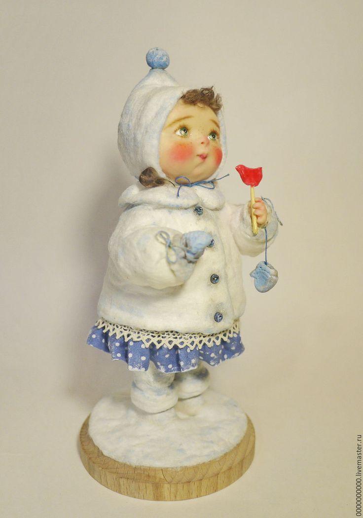 авторская кукла Варя - авторская кукла купить, авторская ручная работа, рождественский подарок