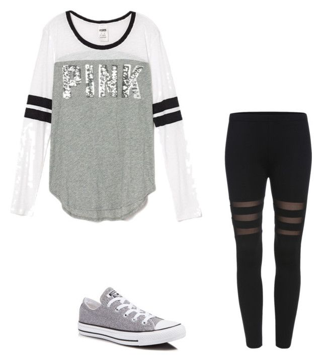 """Cloudy Day outfit"" by jazmynesilva on Polyvore featuring Converse"