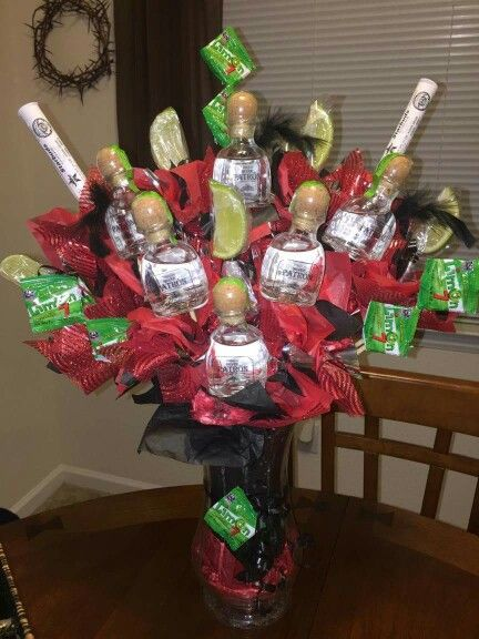 Alcohol bouquet, gifts