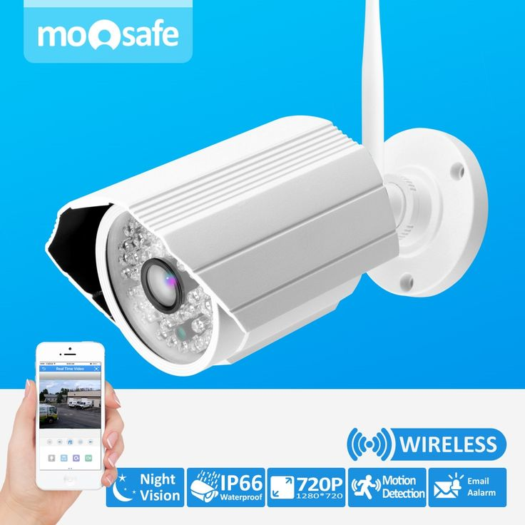49.69$  Buy here - http://alip88.shopchina.info/go.php?t=32769502656 - Onvif IP camera WIFI Megapixel 1.0MP 1280 * 720p HD Outdoor Wireless Security CCTV IP Cam IR Infrared P2P Bullet Kamera 49.69$ #bestbuy