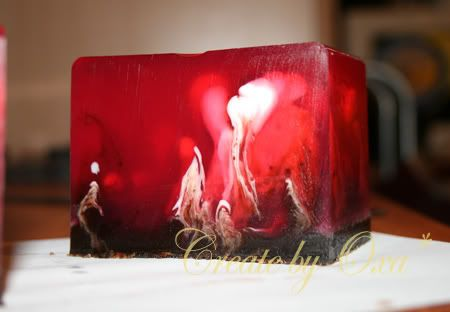 "Soap ""Cherry in chocolate"""